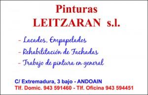 PINTURAS LEITZARAN