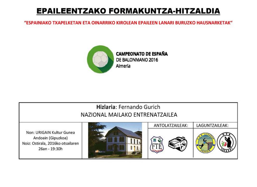 2016-02-26 Epaileentzako Formakuntza Hitzaldia (1)